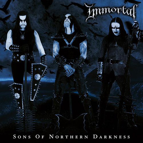 Immortal - Sons Of Northern Darkness recenzja okładka review cover