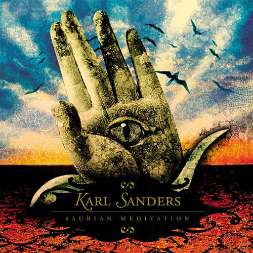 Karl Sanders - Saurian Meditation recenzja okładka review cover
