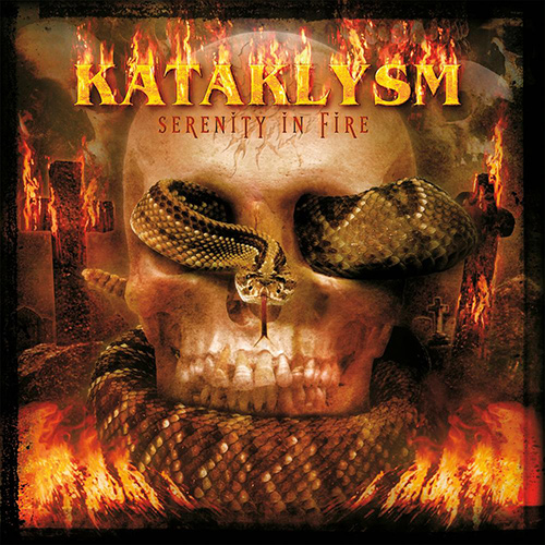 Kataklysm - Serenity In Fire recenzja okładka review cover