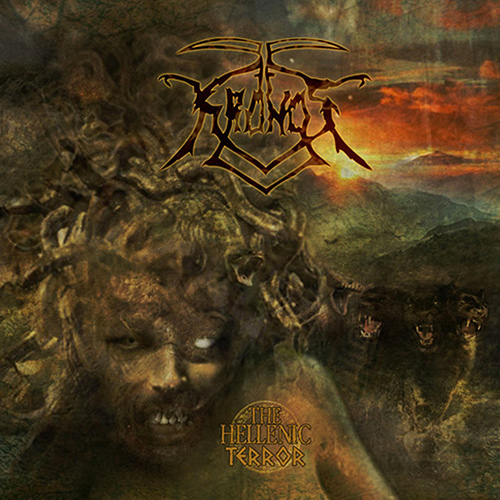 Kronos - The Hellenic Terror recenzja okładka review cover