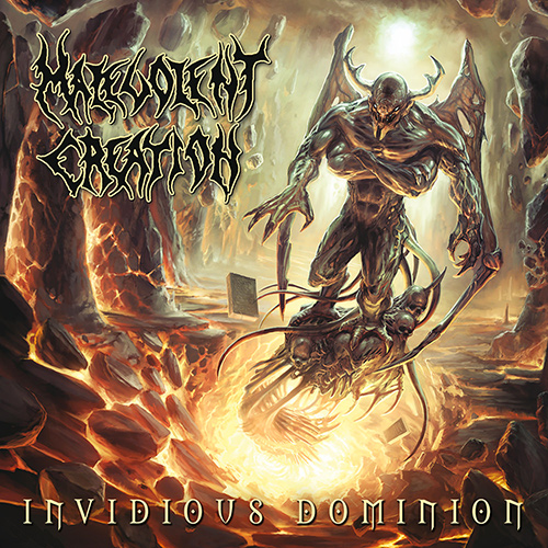 Malevolent Creation - Invidious Dominion recenzja okładka review cover