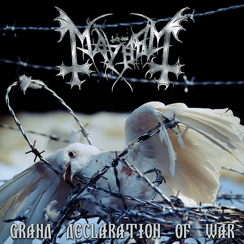 Mayhem - Grand Declaration Of War recenzja okładka review cover