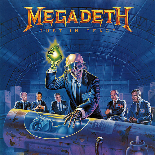Megadeth - Rust In Peace recenzja okładka review cover