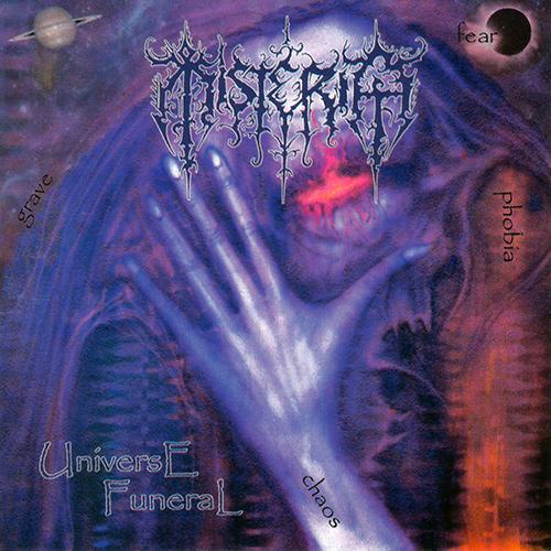 Misteria - Universe Funeral recenzja okładka review cover