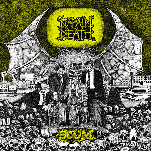 Napalm Death - Scum recenzja okładka review cover