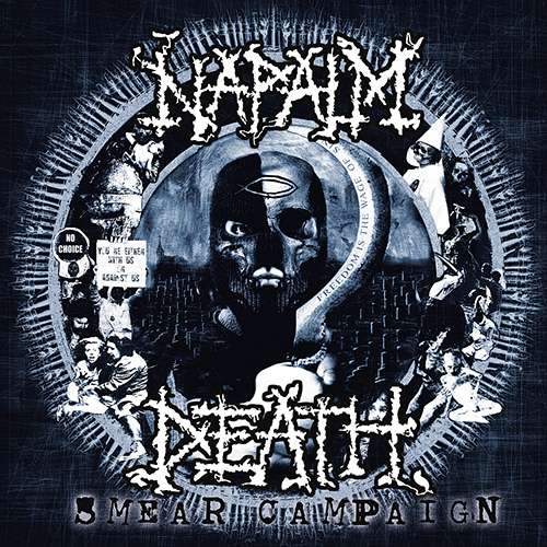 Napalm Death - Smear Campaign recenzja okładka review cover