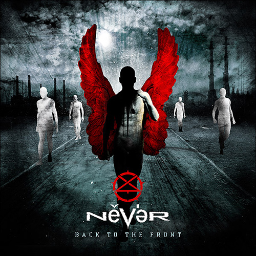 Never - Back To The Front recenzja okładka review cover