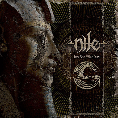 Nile - Those Whom The Gods Detest recenzja okładka review cover