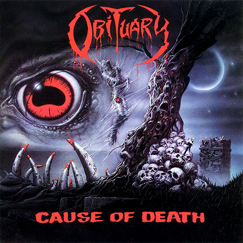 Obituary - Cause Of Death recenzja okładka review cover
