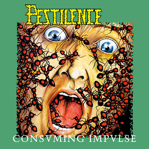 Pestilence - Consuming Impulse recenzja okładka review cover
