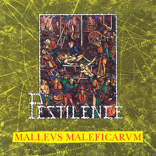 Pestilence - Malleus Maleficarum recenzja okładka review cover