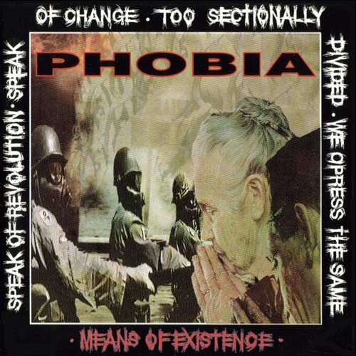 Phobia - Means Of Existence recenzja okładka review cover