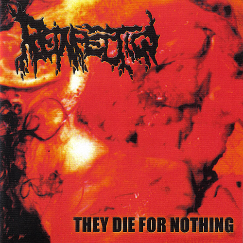 Reinfection - They Die For Nothing recenzja okładka review cover