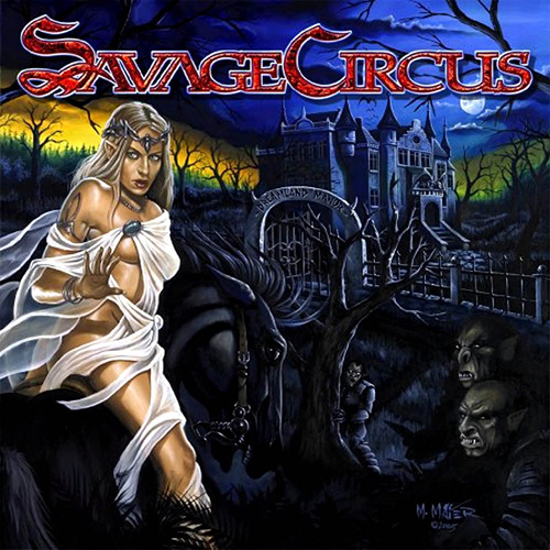 Savage Circus - Dreamland Manor recenzja okładka review cover