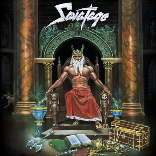 Savatage - Hall Of The Mountain King recenzja okładka review cover