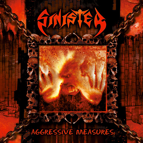 Sinister - Aggressive Measures recenzja okładka review cover