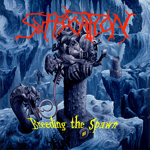 Suffocation - Breeding The Spawn recenzja okładka review cover