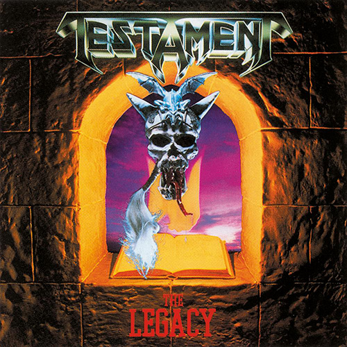Testament - The Legacy recenzja okładka review cover