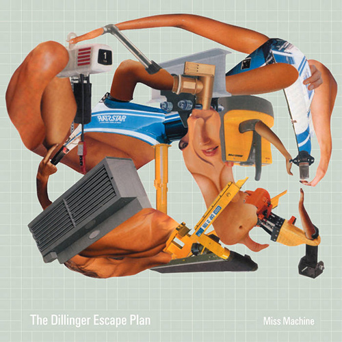 The Dillinger Escape Plan - Miss Machine recenzja okładka review cover