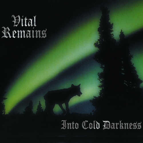 Vital Remains - Into Cold Darkness recenzja okładka review cover
