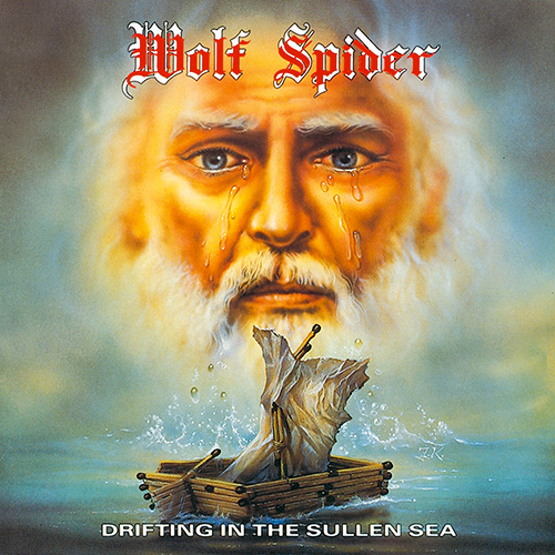 Wolf Spider - Drifting In The Sullen Sea recenzja okładka review cover
