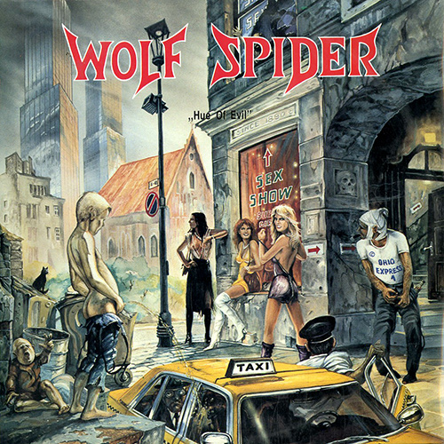Wolf Spider - Hue Of Evil recenzja okładka review cover