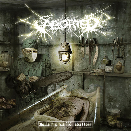 Aborted - The Archaic Abattoir recenzja okładka review cover