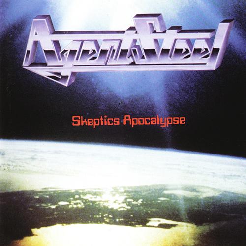 Agent Steel - Skeptics Apocalypse recenzja okładka review cover