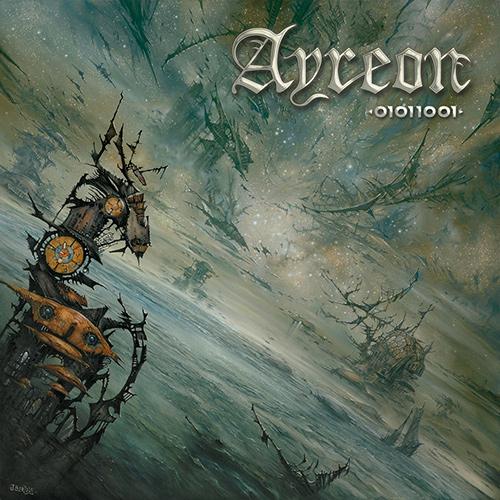 Ayreon - 01011001 recenzja okładka review cover