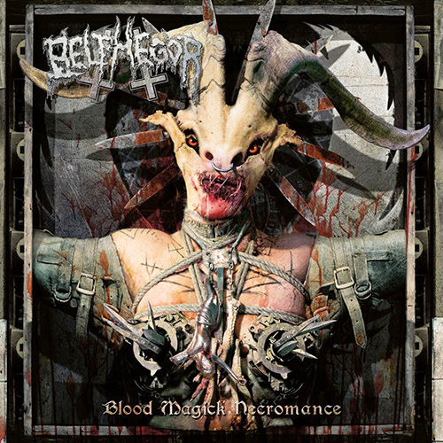 Belphegor - Blood Magick Necromance recenzja okładka review cover