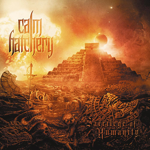 Calm Hatchery - Sacrilege Of Humanity recenzja okładka review cover