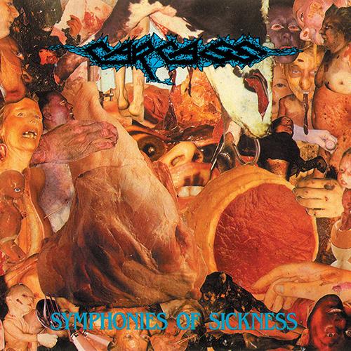 Carcass - Symphonies Of Sickness recenzja okładka review cover