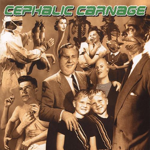 Cephalic Carnage - Exploiting Dysfunction recenzja okładka review cover