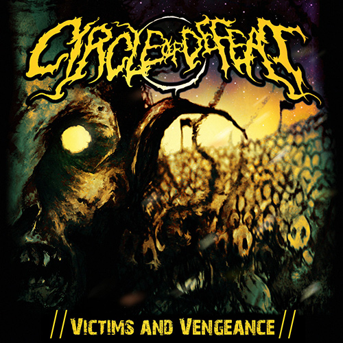 Circle Of Defeat - Victims And Vengeance recenzja okładka review cover