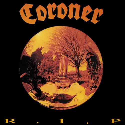 Coroner - R.I.P. recenzja okładka review cover