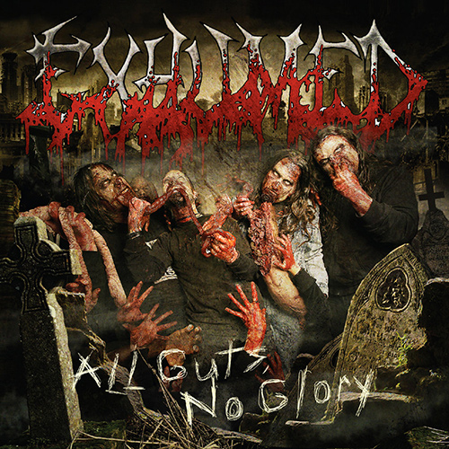 Exhumed - All Guts, No Glory recenzja okładka review cover