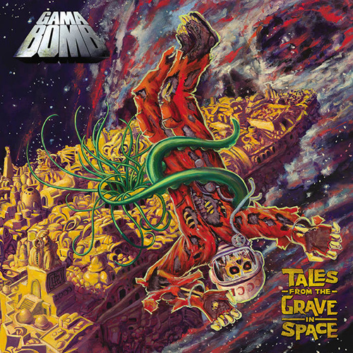 Gama Bomb - Tales From The Grave In Space recenzja okładka review cover