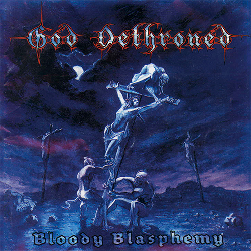 God Dethroned - Bloody Blasphemy recenzja okładka review cover