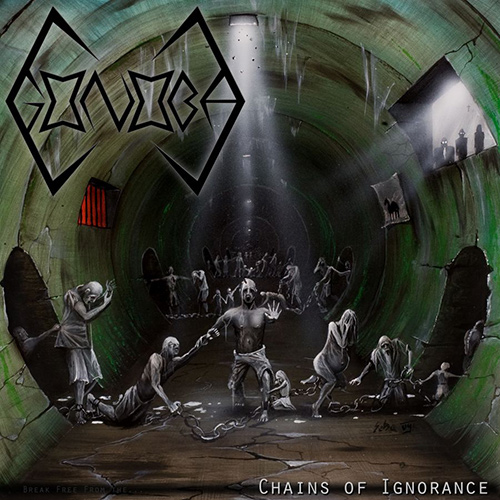 Gonoba - Chains Of Ignorance recenzja okładka review cover