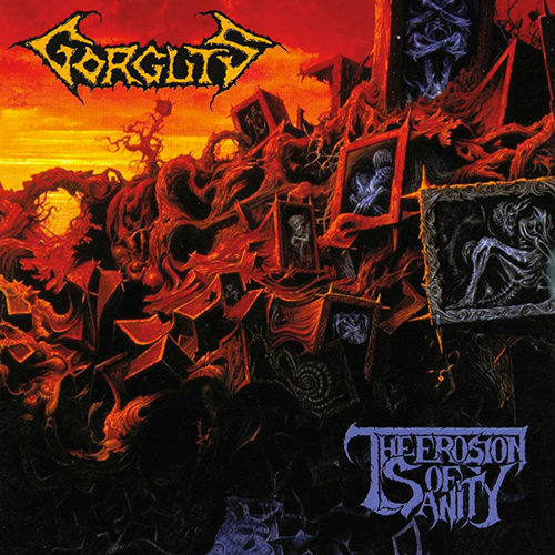 Gorguts - The Erosion Of Sanity recenzja okładka review cover