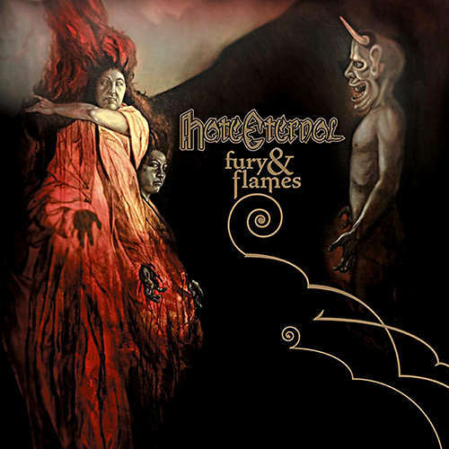 Hate Eternal - Fury & Flames recenzja okładka review cover