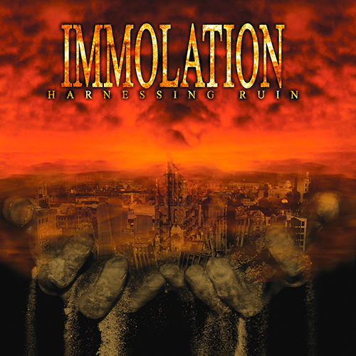 Immolation - Harnessing Ruin recenzja okładka review cover
