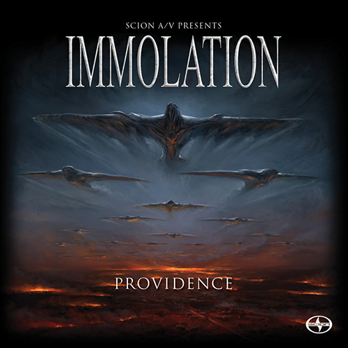 Immolation - Providence recenzja okładka review cover