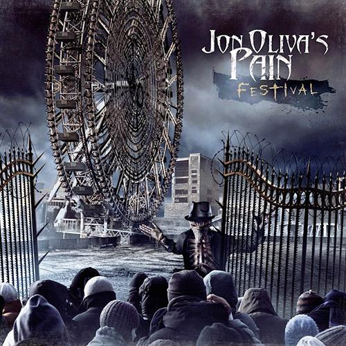 Jon Oliva's Pain - Festival recenzja okładka review cover