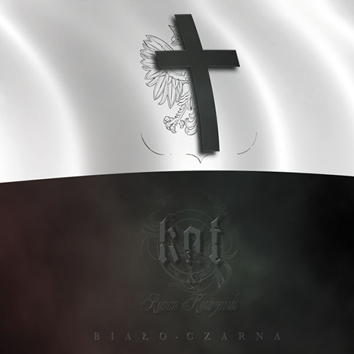 Kat & Roman Kostrzewski - Biało - Czarna recenzja okładka review cover