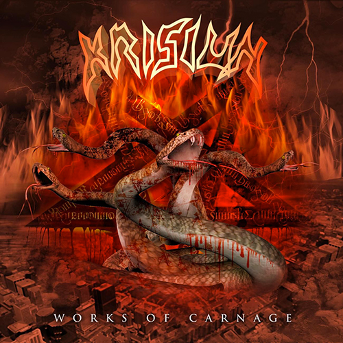 Krisiun - Works Of Carnage recenzja okładka review cover