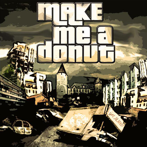 Make Me A Donut - Make Me A Donut recenzja okładka review cover