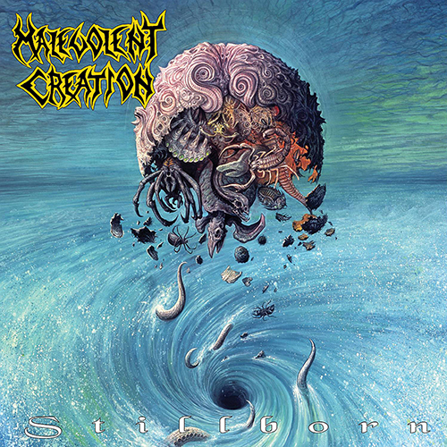 Malevolent Creation - Stillborn recenzja okładka review cover