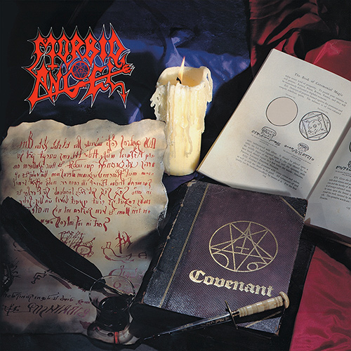 Morbid Angel - Covenant recenzja okładka review cover