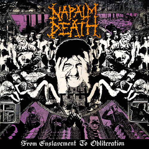 Napalm Death - From Enslavement To Obliteration recenzja okładka review cover